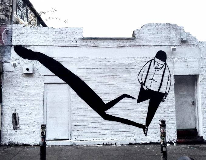 alex senna - street art - shoreditch - london