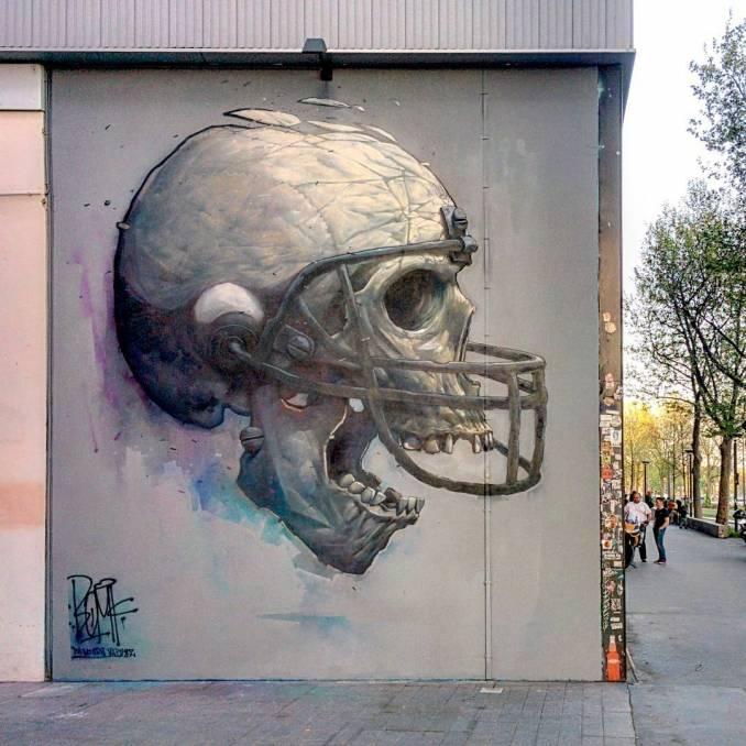 bom.k - street art - effets secondaires - galerie itinerrance - paris