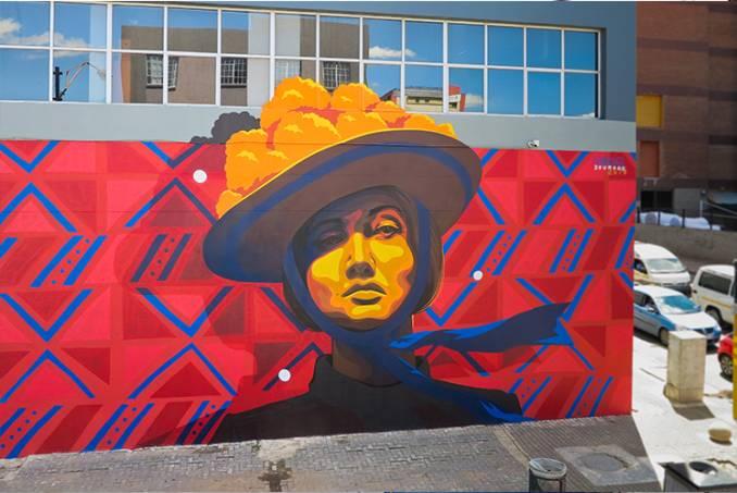 dourone - street art - art urbain - johannesburg - afrique du sud