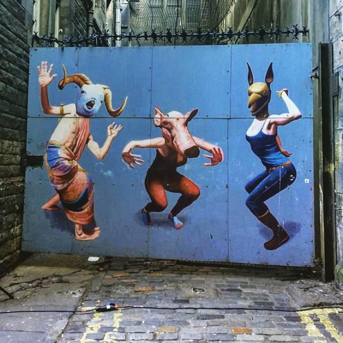 street art - edimburgh