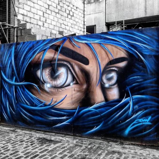 eoin - street art - london
