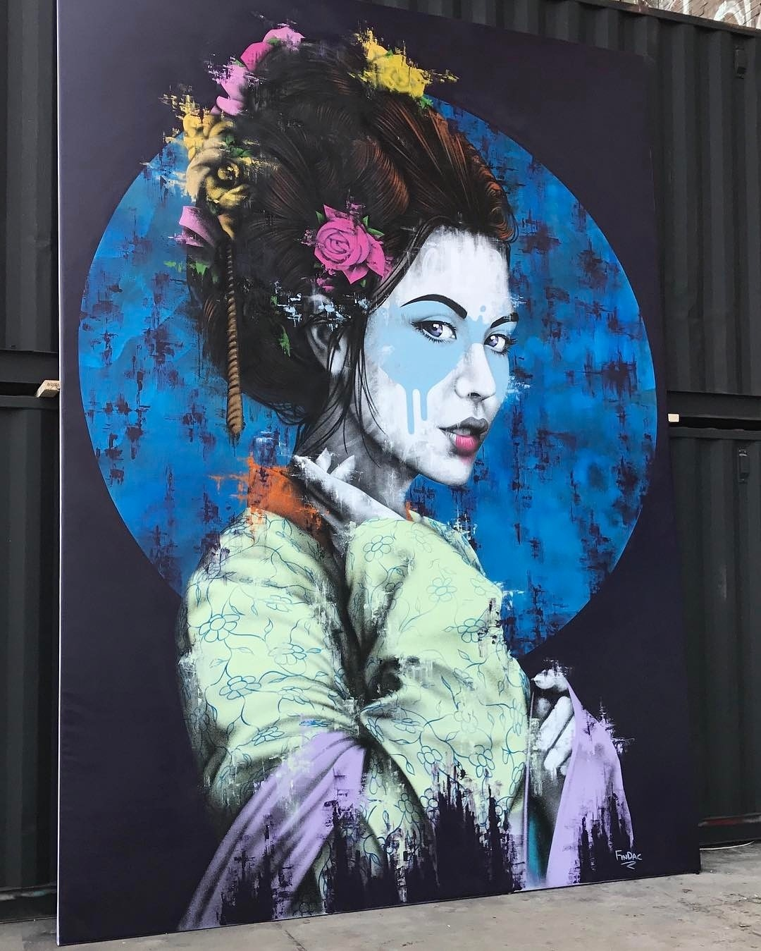 findac - street art - kings spray - amsterdam