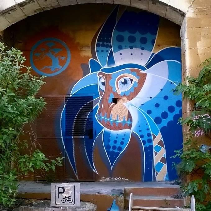 gz - street art - darwin - caserne niel - bordeaux
