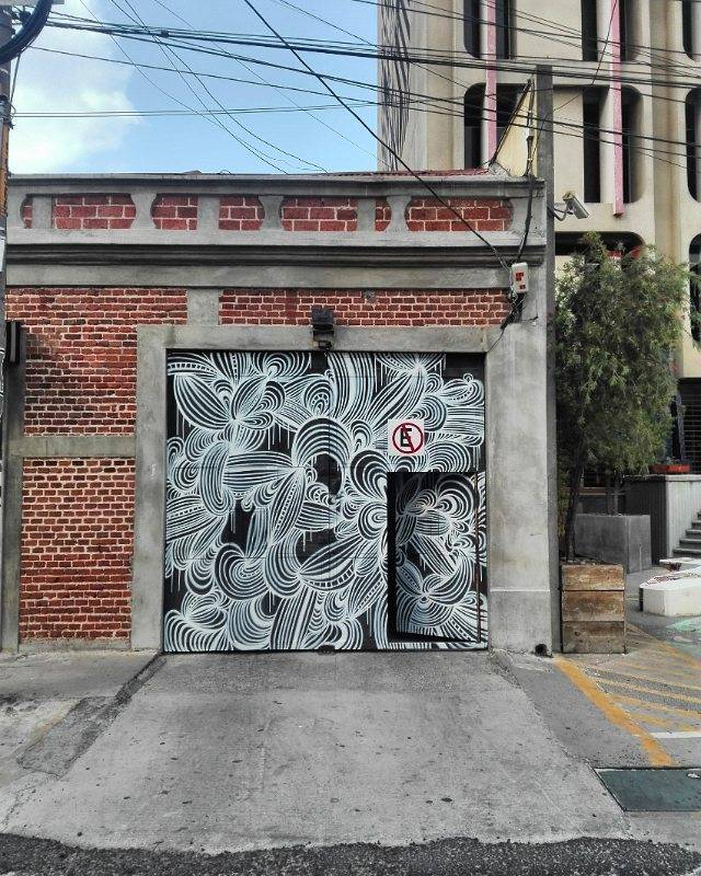 kef - street art - abstraction - guatemala