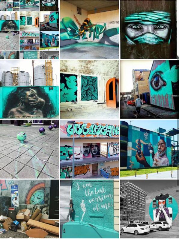 Vert émeraude ! #Mosaic by @streetartavenue