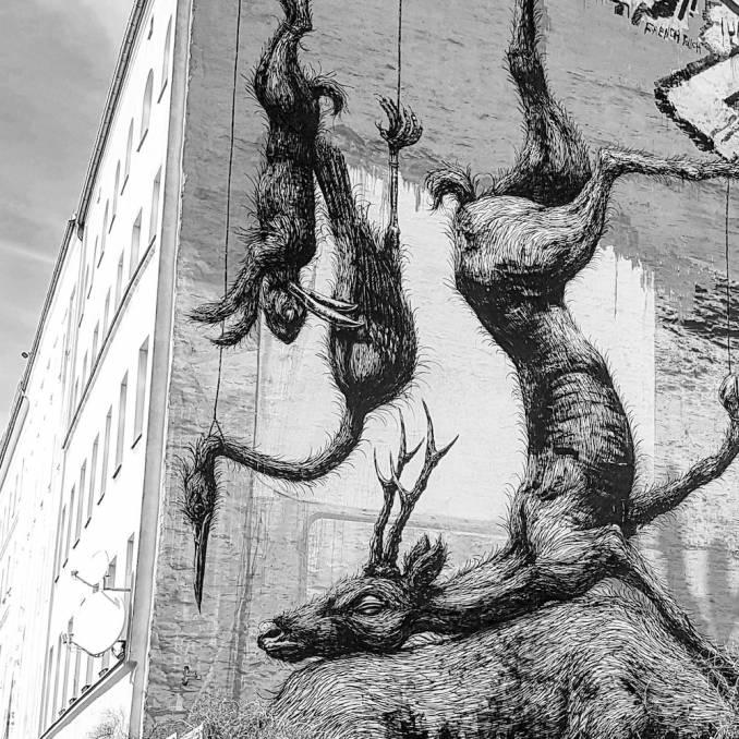 roa - street art avenue - kreusberg - berlin