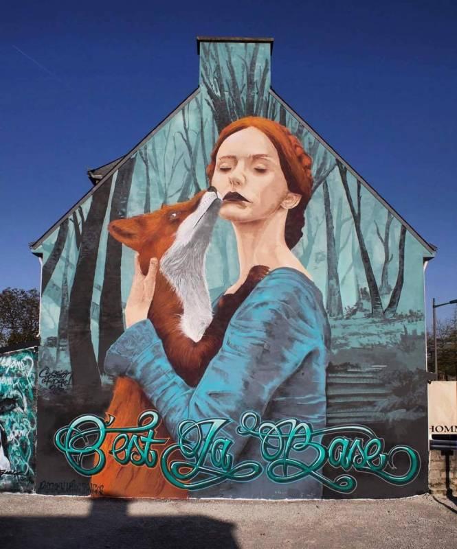 Aries - Zermi Fugs - Mérpis - Rezin - street art - collectif A4 - CLB - C'est La Base - Grand-Champ