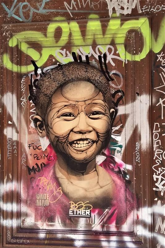 guate mao - street art - marseille