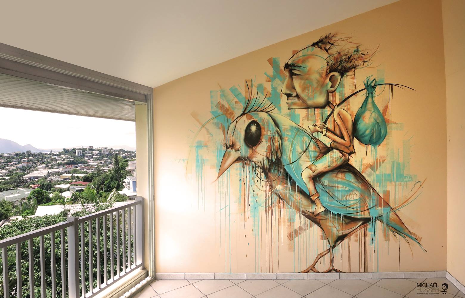 """""""The time traveller"""" - Nouméa (Nouvelle Calédonie) // mars 2015"""