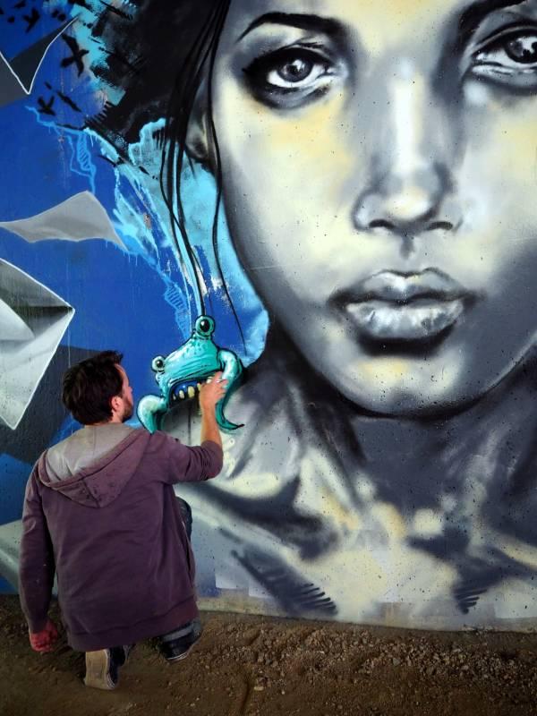 jef - korsé - street art - vannes et sa street