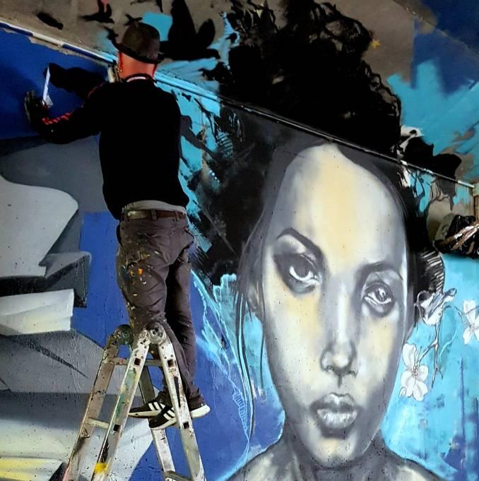 jef - street art - vannes et sa street