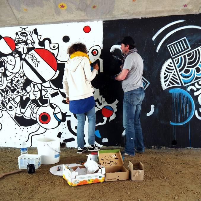 kar - oox - street art - vannes et sa street