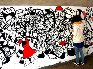 kar - street art - vannes et sa street