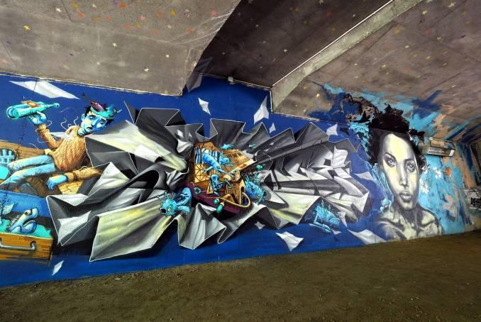 songe - korsé - street art - vannes et sa street