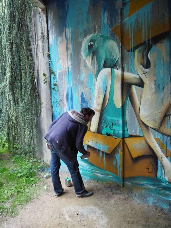 korsé - mika - street art - vannes et sa street