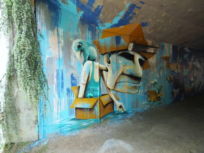 mika - street art - vannes et sa street