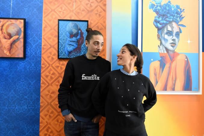 Elodie & Fabio // photo © Catherine Kohler