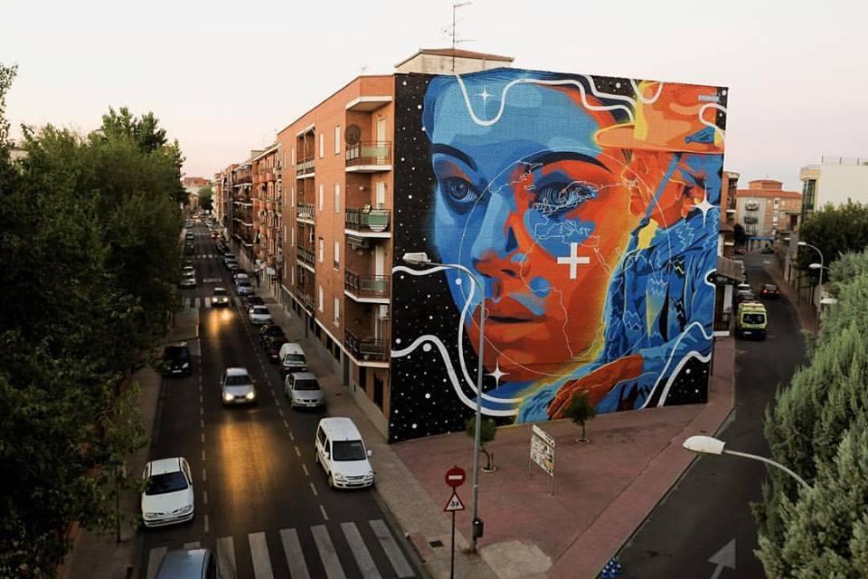 dourone - street art - map festival - toledo - espagne