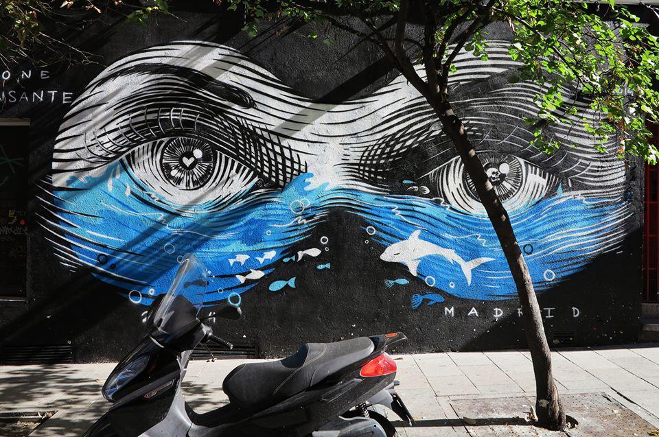 dourone - street art - madrid