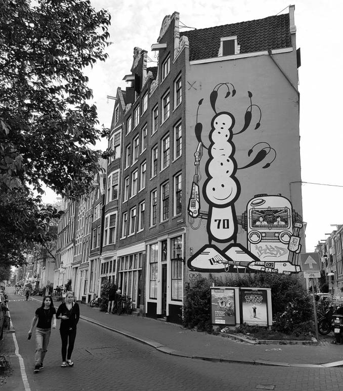 london police - street art avenue - amsterdam