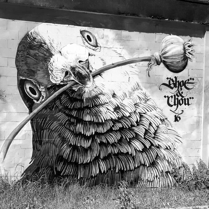 adele renault - niels shoe Mmulman - street art avenue - amsterdam