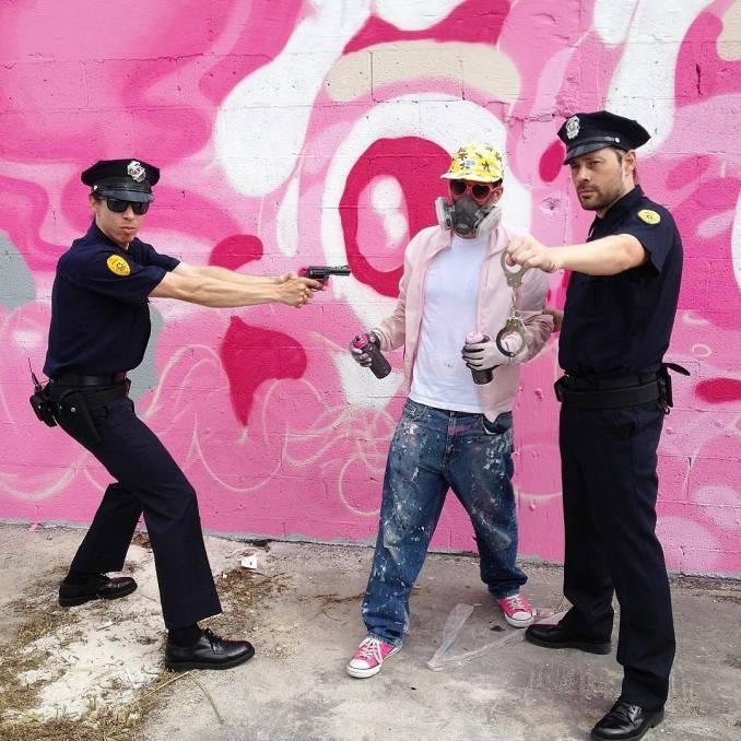 London Police x Buff Monster - Wynwood, Miami // photo @buffmonster