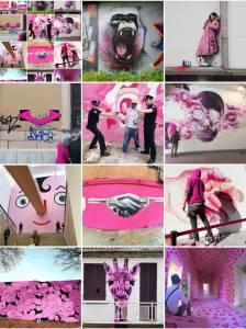 mosaic - pink - street art avenue