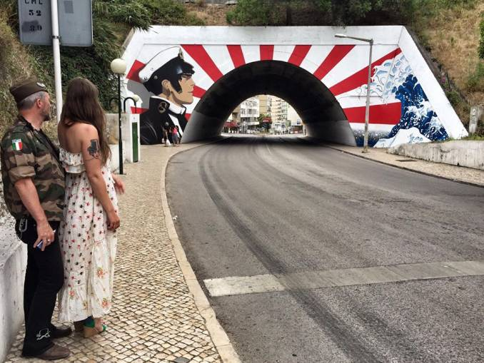 zag sia - street art - festival loures arte publica - lisbonne
