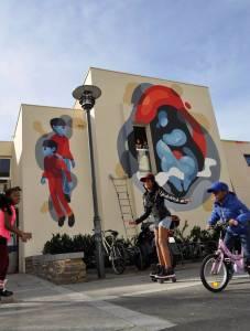 dino voodoo - street art - mjc antipode - rennes