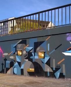 dino voodoo - street art - nantes