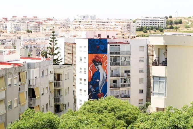 dourone - street art - estepona - espagne