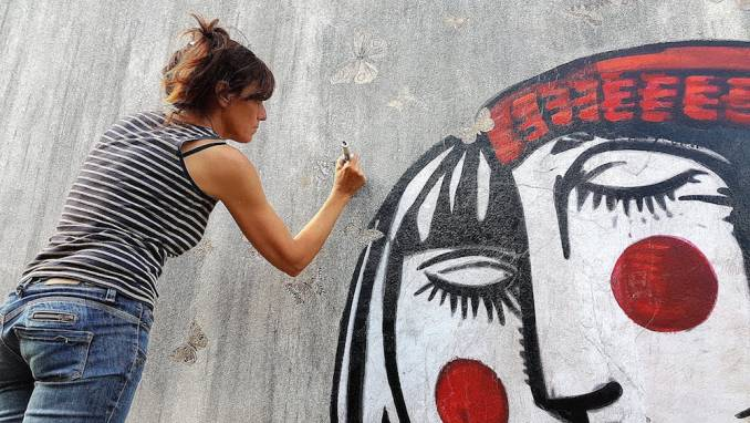 erika raio - street art avenue - villa gregam - grand-champ