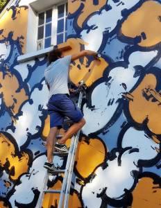 greky 25eme - street art avenue - villa gregam - grand-champ