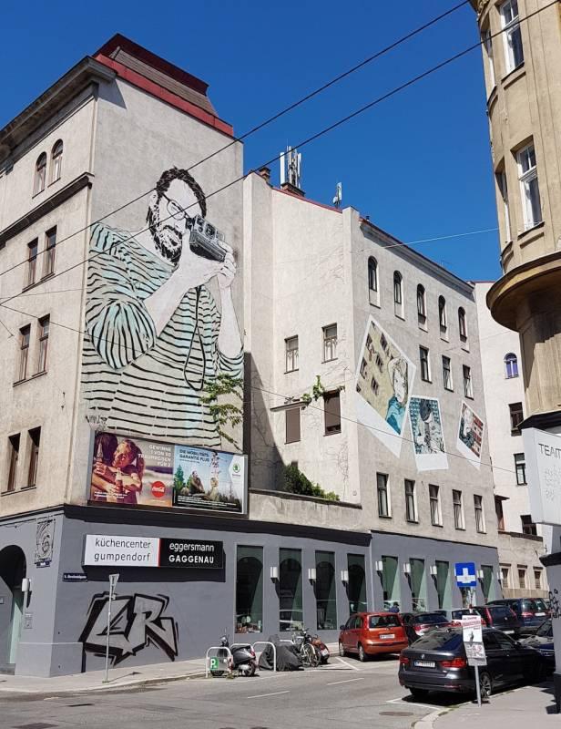 jana and js - street art avenue - hornbostelgasse - vienne - autriche
