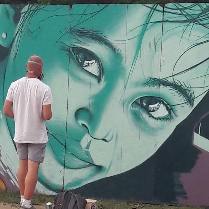 street art avenue - mosaic - aero - creaero - rennes