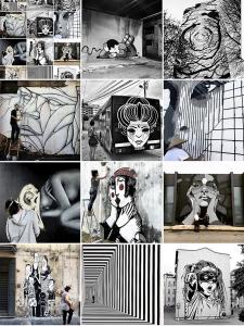 street-art-avenue-mosaic-black and white-aout-2017