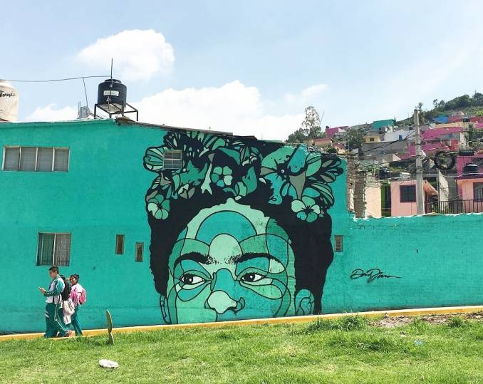 street art avenue - mosaic - david flores - mexico