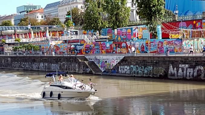 graffiti - street art - vienne - danube