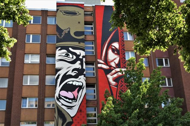 D*Face x Sh. Fairey-streetart-berlin