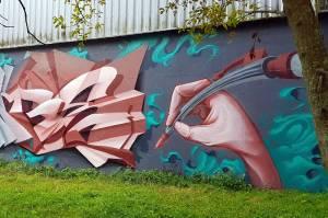 songe - street art - graffiti -vannes - bretagne