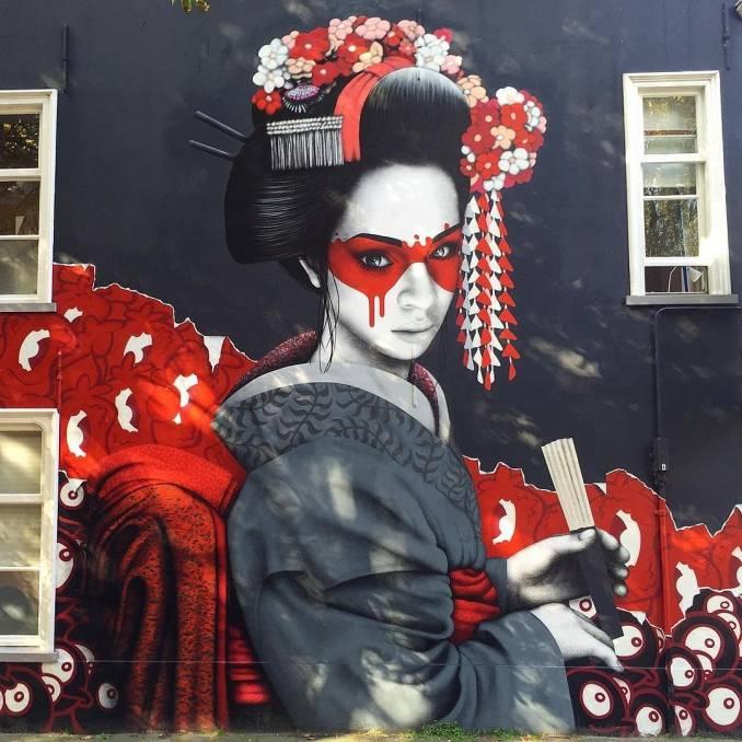 street art avenue - mosaic - fin dac - pays bas 2015