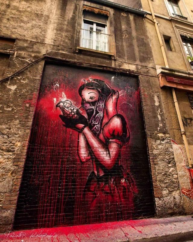 street art avenue - mosaic - goin - grenoble 2015