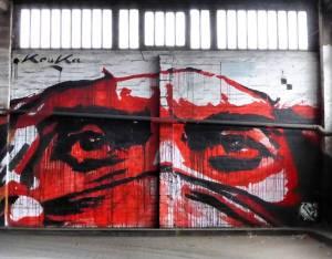 street art avenue - mosaic - kouka - vincennes 2017