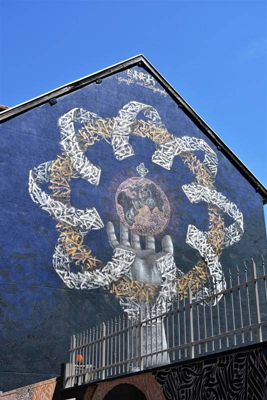 snek - street art - grenoble