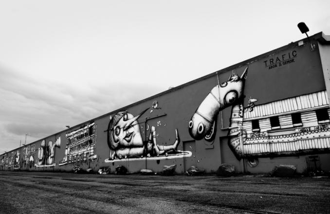 alain street art - ador - semor - nantes