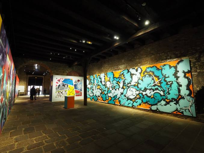 greky 25ème - hors cadre - street art avenue - vannes