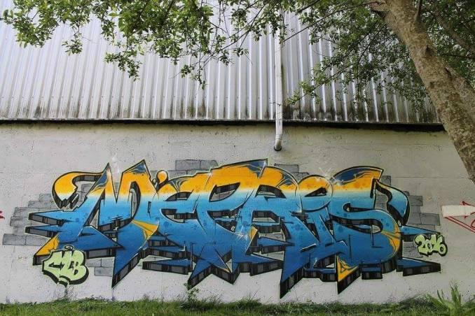 mepris - graffiti - crew CLB - vannes