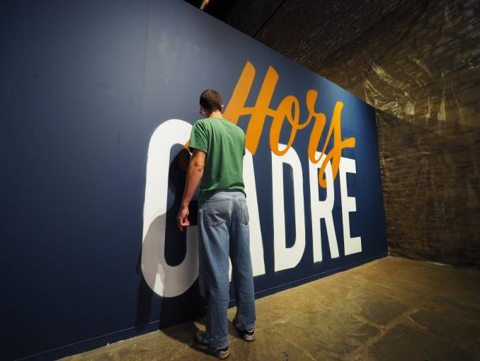 snobe - hors cadre - street art avenue - vannes