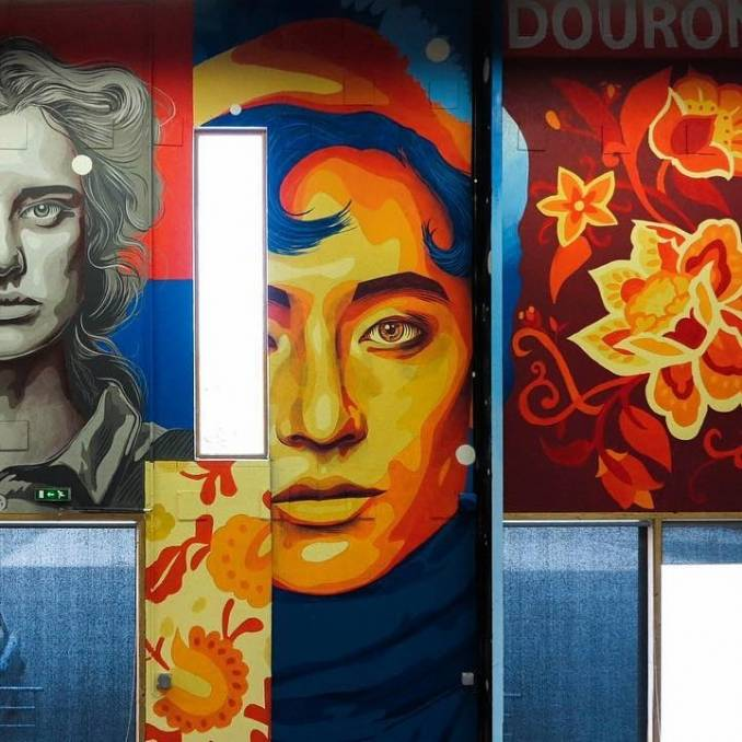 dourone - street art - ecodis - saint nolff