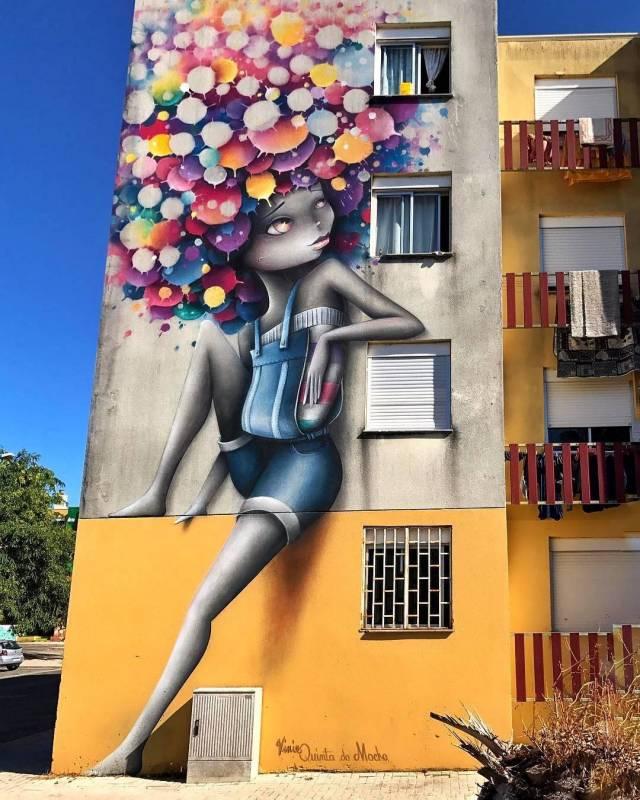 vinie graffiti - street art - quinta do mocho - loures - lisbonne